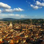 鐘楼から見えるフィレンツェの町