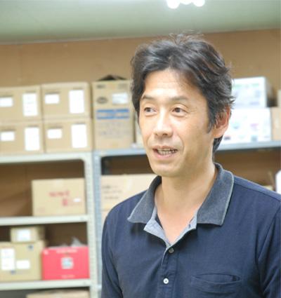 a桜井工場代表 矢野さん
